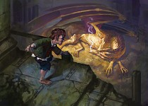 bilbo and smaug art