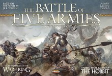 The Hobbit  3 - Battle of five armies - game cover