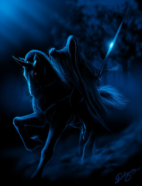 Nazgul in the dark...