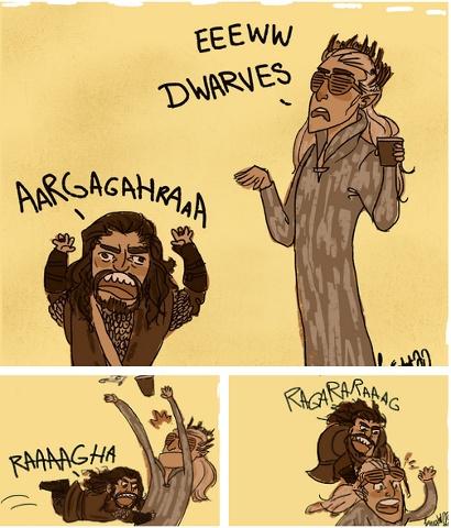 Lesson about Dwarves