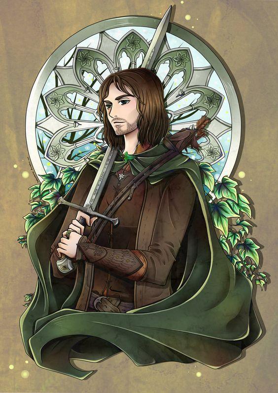 Aragorn   Anime       Image - The Fellowship