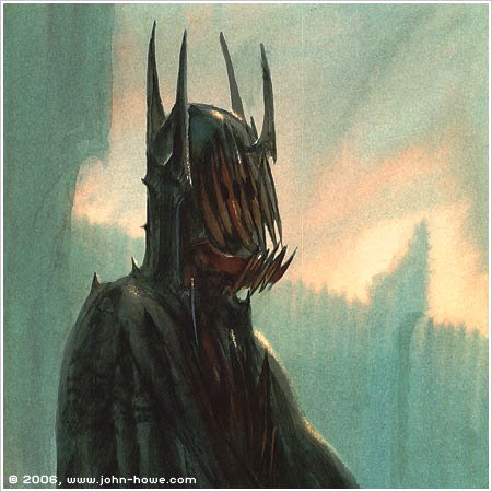 Mouth of Sauron concept art