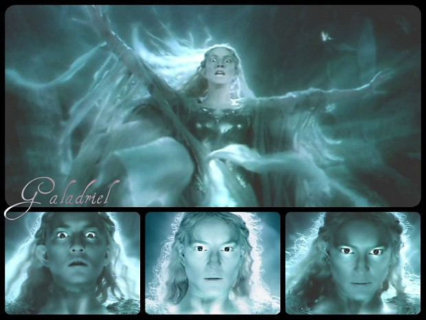Galadriel pics collage