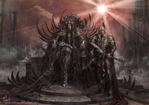 Morgoth and Sauron