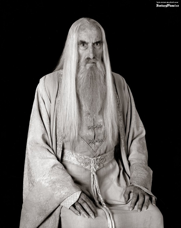 Saruman shows the face of love