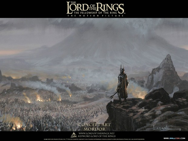 Lord Of The Rings Mordor Concept Art Image The