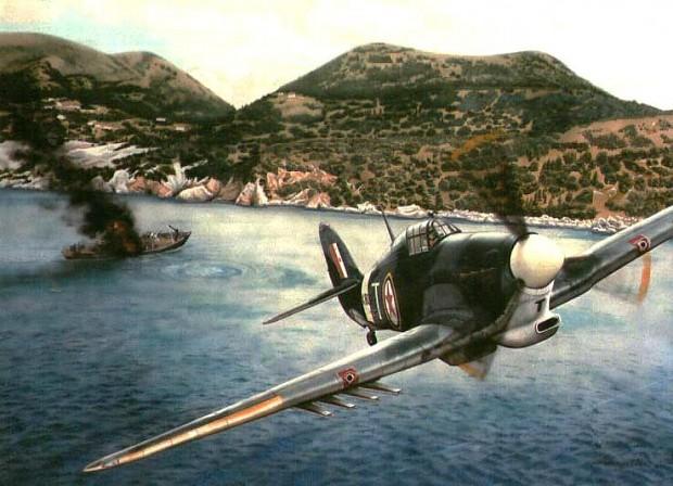 Yugoslav Partisan's Hurricane Mk. IV