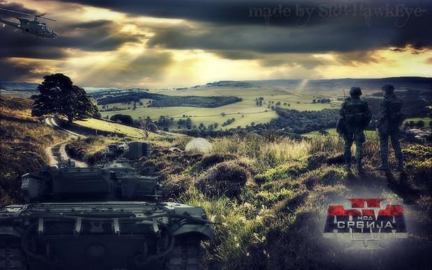 ARMA 2 Serbian Army Wallpaper (ulepsana verzija)