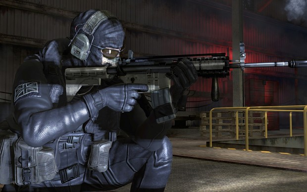 Ghost Riley from Modern Warfare 2