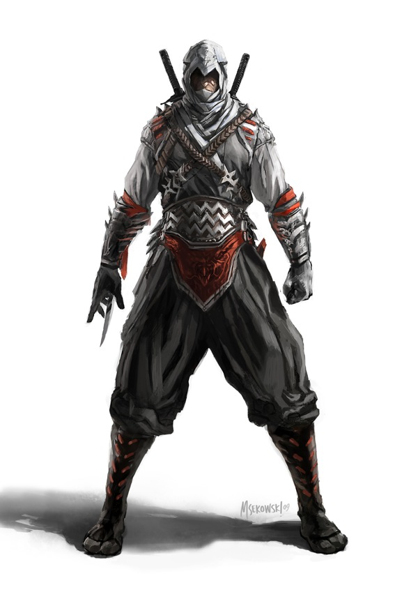 Japanese Assassin (concept)