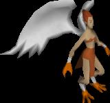 Harpy - flat texture