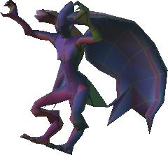 Harpy attack pose