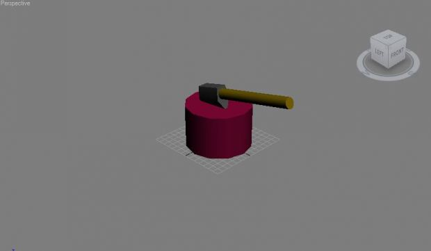 Tree Chop with Axe(Low Poly)