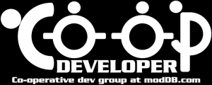 Promotion LOGO Co-op Games & Mods DEV GROUP