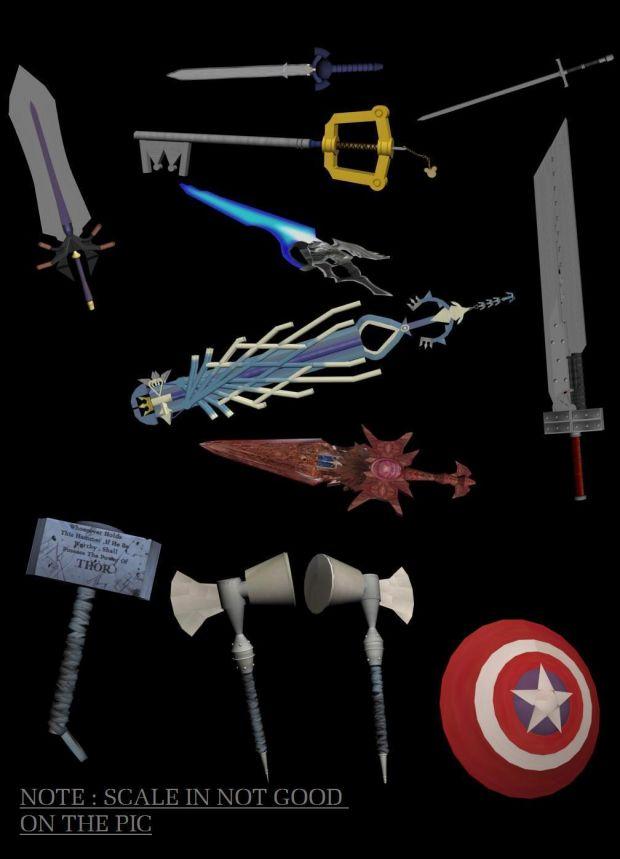 Games Swords Pack