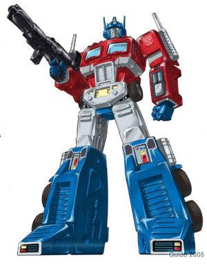 Classic Optimus!