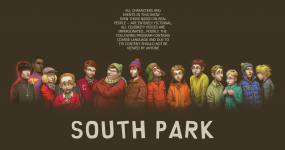South Park in Cartoon style