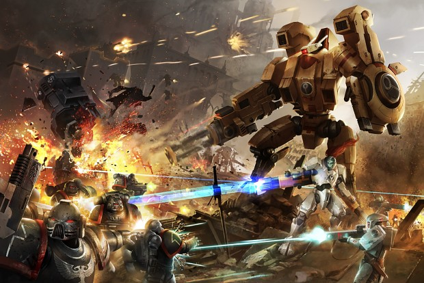 Warhammer 40000 Tau Empire Astra Militarum