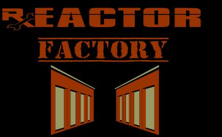 Reactor Factory logo 1