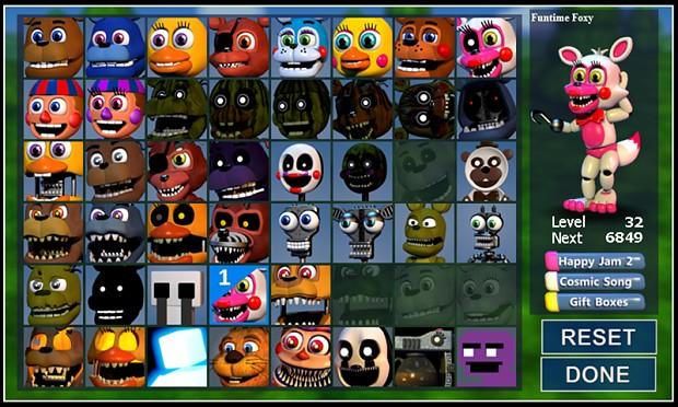 Character Select image - Five Nights at Freddy's World - Mod DB