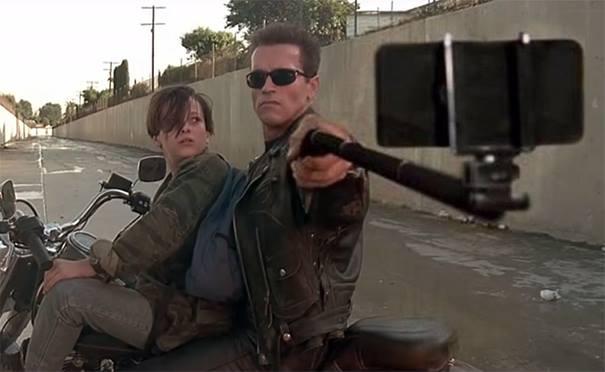 Hasta La Vista... Selfie.
