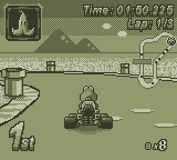 mariokart gameboy demake