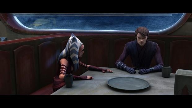 Ahsoka Tano & Anakin Skywalker - The Clone Wars - s04e21