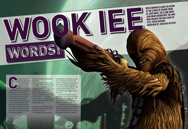 Peter Mayhew - Chewbacca - interview a