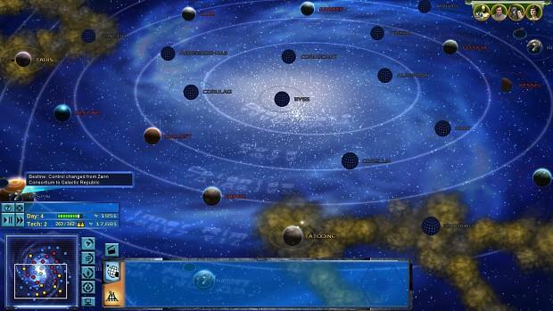 New Galaxy Regions