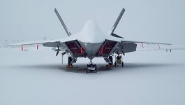 Probably the coolest F-22 that you'll ever see.