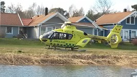 Eurocopter EC-135 in Swedish ambulance service