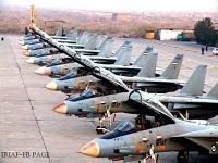 Lineup of IRIAF F-14's.