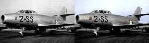 "French Dassault M.D-450 ""Ouragan"""