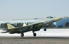 Flew the fourth Pak FA Prototype.
