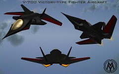 V-700 Victory-type Fighter Aircraft