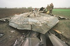 F-117 on the Yugoslavian soil