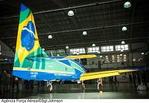 Brazilian 'Esquadrilha da Fumaça' - New plane.