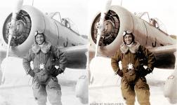 KI-27 and Pilot.