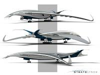 Lockheed's stratoliner concept