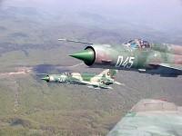 Bulgarian MiG-21s