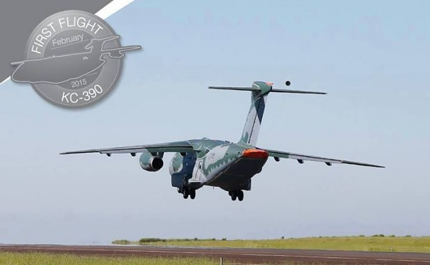 First fly of the KC390