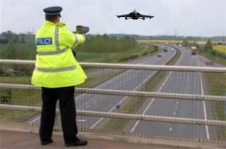 Top this for a speeding ticket!