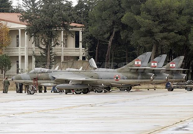 Lebanese Hawker Hunters