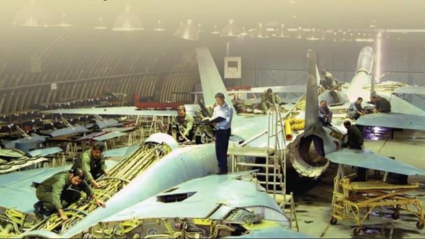 F-14 Mantenence Facility in Tehran, Iran.