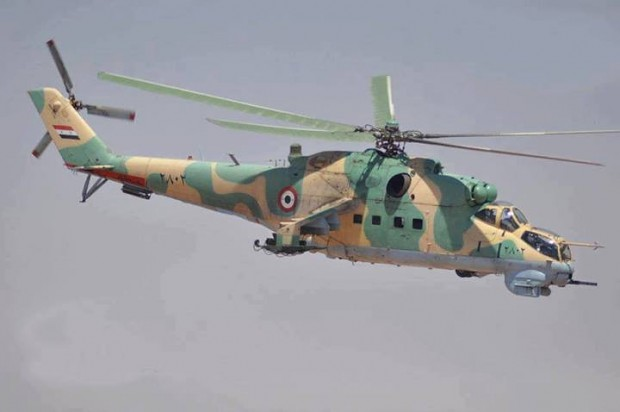 Syrian Arab AirForce Mi-24