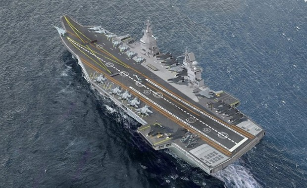 Proposed Designs For The New Russian Carrier Image Aircraft Lovers Group Mod Db