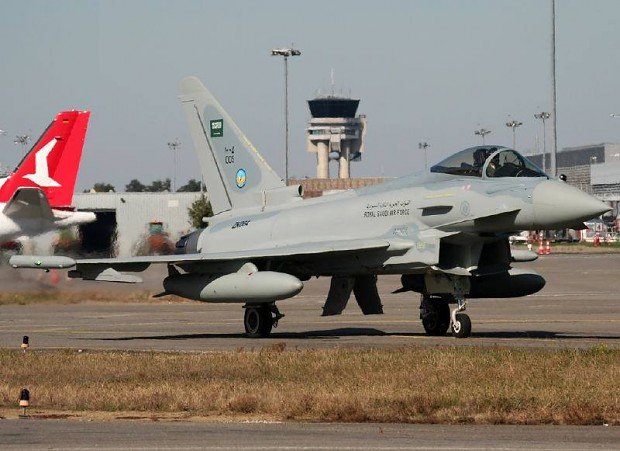 Royal Saudi Air Force Eurofighter Typhoon