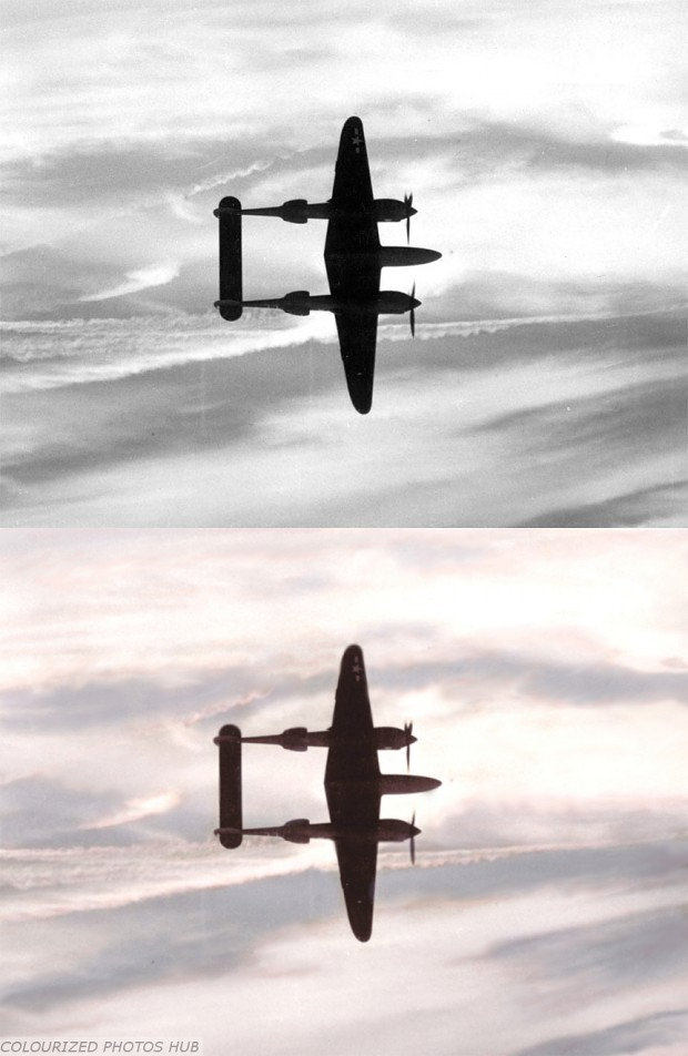 P-38 Date Location Unknown