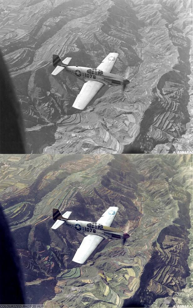 P-51 Over China...