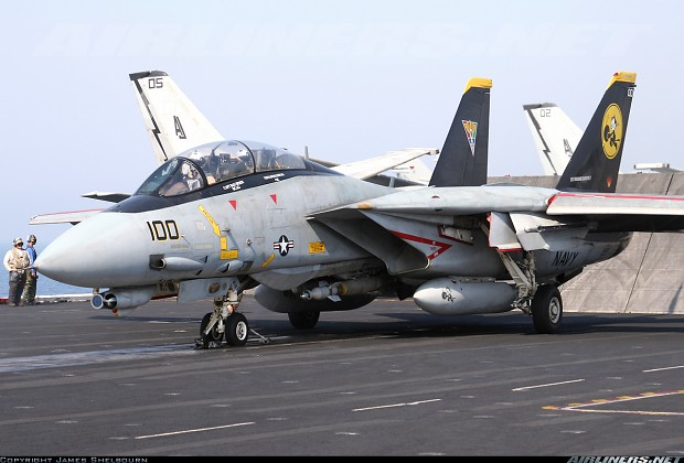 some carrier based aircraft